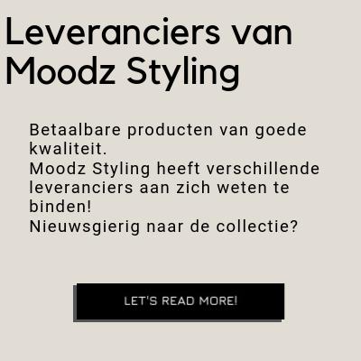 Leveranciers van Moodz Styling